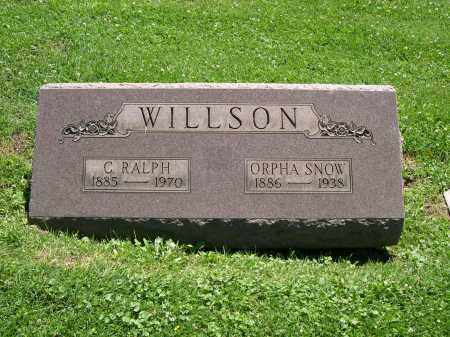 SNOW WILLSON, ORPHA - Cuyahoga County, Ohio | ORPHA SNOW WILLSON - Ohio Gravestone Photos