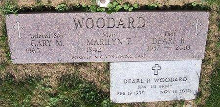 WOODARD, DEARL RICHARD - Cuyahoga County, Ohio | DEARL RICHARD WOODARD - Ohio Gravestone Photos