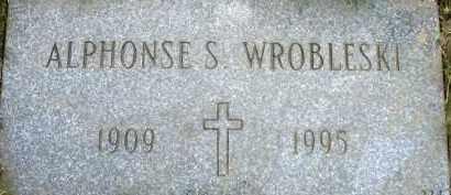 WROBLESKI, ALPHONSE S. - Cuyahoga County, Ohio   ALPHONSE S. WROBLESKI - Ohio Gravestone Photos
