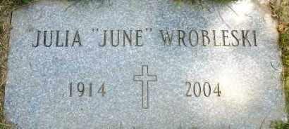 "GRIFFIN WROBLESKI, JULIA ""JUNE"" - Cuyahoga County, Ohio | JULIA ""JUNE"" GRIFFIN WROBLESKI - Ohio Gravestone Photos"