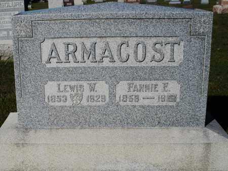 ARMACOST, FANNIE E. - Darke County, Ohio   FANNIE E. ARMACOST - Ohio Gravestone Photos