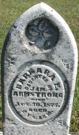 ARMSTRONG, BARBARA E. - Darke County, Ohio | BARBARA E. ARMSTRONG - Ohio Gravestone Photos