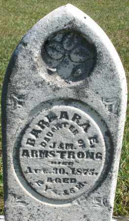 ARMSTRONG, BARBARA E. - Darke County, Ohio | BARBARA E. ARMSTRONG - Ohio Gravestone Photos