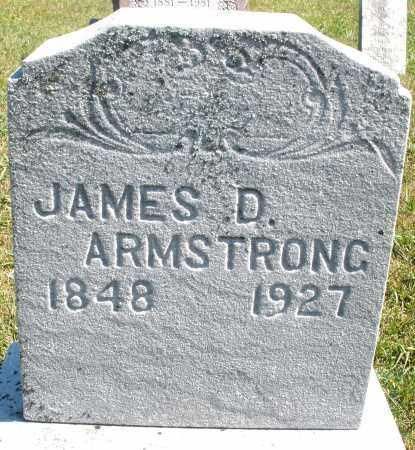 ARMSTRONG, JAMES D. - Darke County, Ohio | JAMES D. ARMSTRONG - Ohio Gravestone Photos