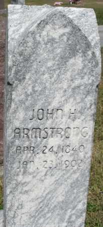 ARMSTRONG, JOHN H. - Darke County, Ohio | JOHN H. ARMSTRONG - Ohio Gravestone Photos
