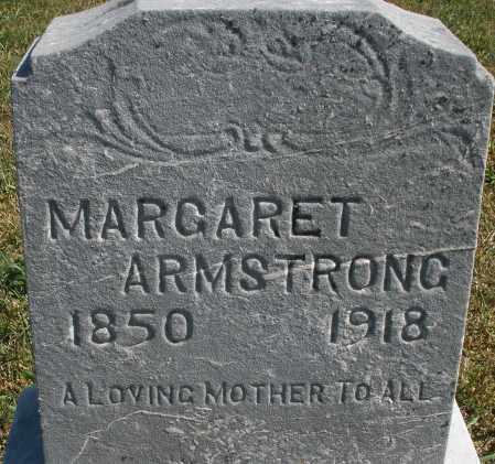 ARMSTRONG, MARGARET - Darke County, Ohio   MARGARET ARMSTRONG - Ohio Gravestone Photos
