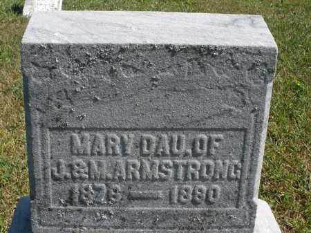 ARMSTRONG, MARY - Darke County, Ohio | MARY ARMSTRONG - Ohio Gravestone Photos