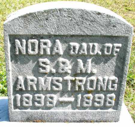 ARMSTRONG, NORA INFANT - Darke County, Ohio   NORA INFANT ARMSTRONG - Ohio Gravestone Photos