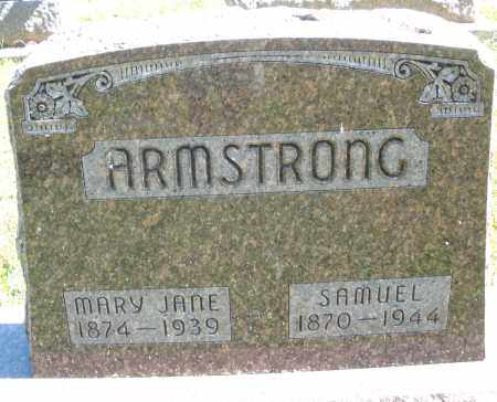ARMSTRONG, SAMUEL - Darke County, Ohio | SAMUEL ARMSTRONG - Ohio Gravestone Photos