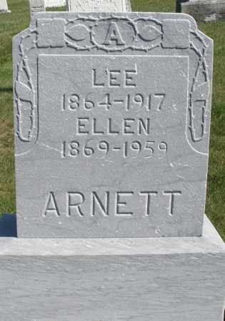ARNETT, ELLEN - Darke County, Ohio | ELLEN ARNETT - Ohio Gravestone Photos