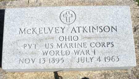 ATKINSON, MCKELVEY - Darke County, Ohio   MCKELVEY ATKINSON - Ohio Gravestone Photos