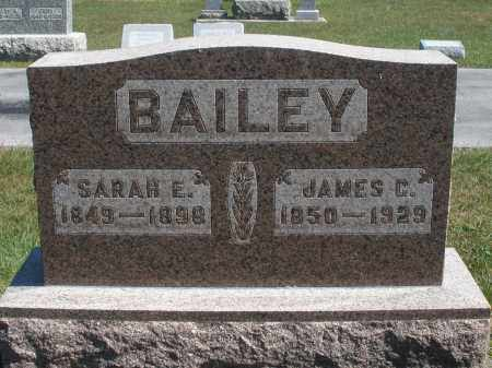 BAILEY, SARAH E. - Darke County, Ohio | SARAH E. BAILEY - Ohio Gravestone Photos