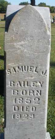 BAILEY, SAMUEL J. - Darke County, Ohio   SAMUEL J. BAILEY - Ohio Gravestone Photos