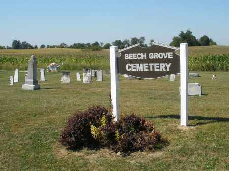 BEECH GROVE, CEMETERY - Darke County, Ohio | CEMETERY BEECH GROVE - Ohio Gravestone Photos