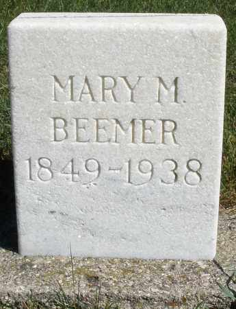 BEEMER, MARY M. - Darke County, Ohio | MARY M. BEEMER - Ohio Gravestone Photos