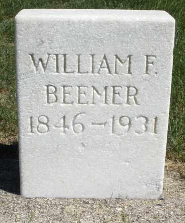BEEMER, WILLIAM F. - Darke County, Ohio | WILLIAM F. BEEMER - Ohio Gravestone Photos