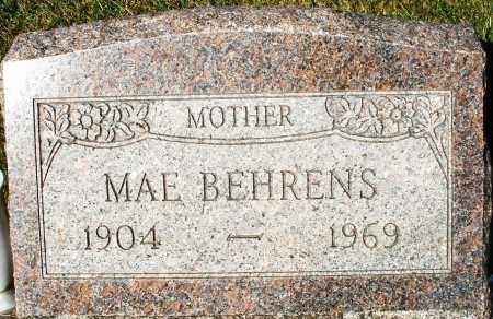 BEHRENS, MAE - Darke County, Ohio   MAE BEHRENS - Ohio Gravestone Photos