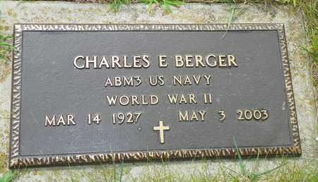 BERGER, CHARLES E. - Darke County, Ohio | CHARLES E. BERGER - Ohio Gravestone Photos