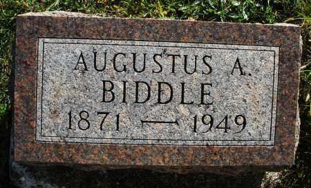 BIDDLE, AUGUSTUS A. - Darke County, Ohio | AUGUSTUS A. BIDDLE - Ohio Gravestone Photos