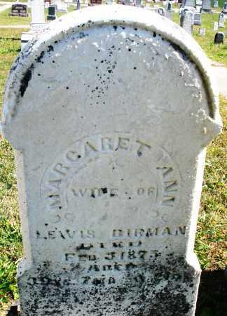 BIRMAN, MARGARET ANN - Darke County, Ohio | MARGARET ANN BIRMAN - Ohio Gravestone Photos
