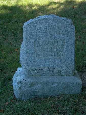 BLOCHER, ELIZABETH - Darke County, Ohio   ELIZABETH BLOCHER - Ohio Gravestone Photos