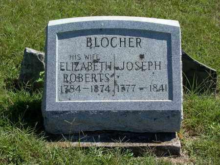 ROBERTS BLOCHER, ELIZABETH - Darke County, Ohio | ELIZABETH ROBERTS BLOCHER - Ohio Gravestone Photos