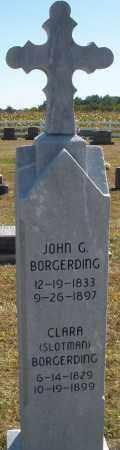 BORGERDING, JOHN G. - Darke County, Ohio | JOHN G. BORGERDING - Ohio Gravestone Photos
