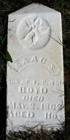 BOYD, ISAAC S. - Darke County, Ohio   ISAAC S. BOYD - Ohio Gravestone Photos
