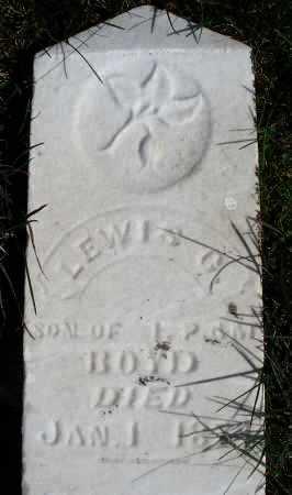 BOYD, LEWIS G. - Darke County, Ohio   LEWIS G. BOYD - Ohio Gravestone Photos