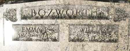 BOZWORTH, WILLIAM - Darke County, Ohio   WILLIAM BOZWORTH - Ohio Gravestone Photos