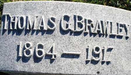 BRAWLEY, THOMAS G. - Darke County, Ohio | THOMAS G. BRAWLEY - Ohio Gravestone Photos
