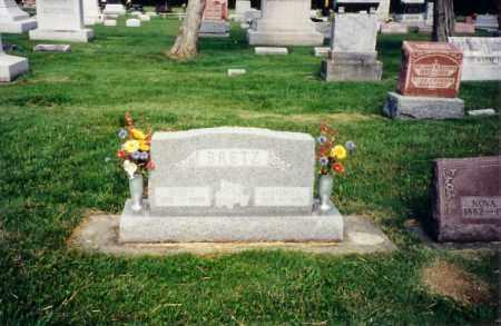 BRETZ, EDITH P - Darke County, Ohio   EDITH P BRETZ - Ohio Gravestone Photos