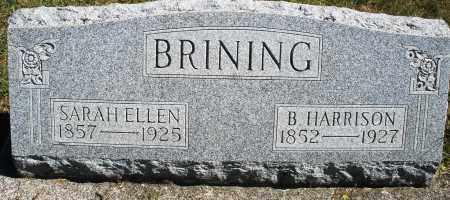BRINING, B. HARRISON - Darke County, Ohio | B. HARRISON BRINING - Ohio Gravestone Photos