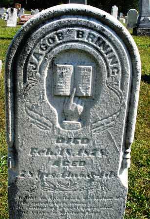 BRINING, JACOB - Darke County, Ohio   JACOB BRINING - Ohio Gravestone Photos