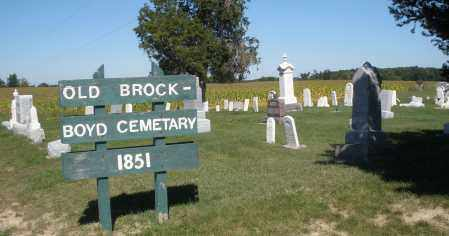 BROCK-BOYD, CEMETERY - Darke County, Ohio | CEMETERY BROCK-BOYD - Ohio Gravestone Photos
