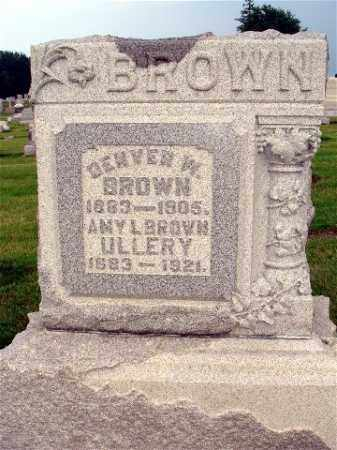 BROWN, DENVER W. - Darke County, Ohio | DENVER W. BROWN - Ohio Gravestone Photos