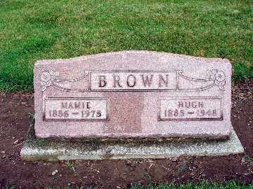 BROWN, HUGH - Darke County, Ohio | HUGH BROWN - Ohio Gravestone Photos