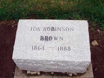 BROWN, IDA - Darke County, Ohio | IDA BROWN - Ohio Gravestone Photos