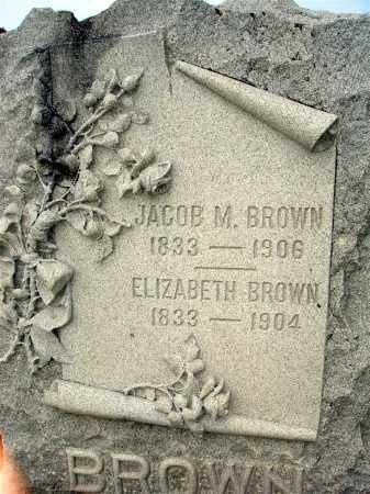 BROWN, ELIZABETH - Darke County, Ohio | ELIZABETH BROWN - Ohio Gravestone Photos