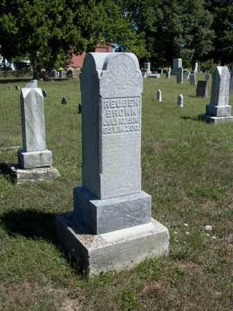 BROWN, REUBEN - Darke County, Ohio   REUBEN BROWN - Ohio Gravestone Photos