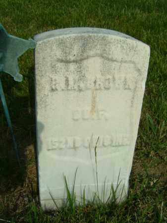 M. BROWN, RICHARD - Darke County, Ohio | RICHARD M. BROWN - Ohio Gravestone Photos
