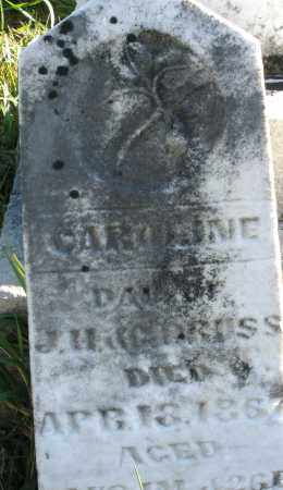BRUSS, CAROLINE - Darke County, Ohio   CAROLINE BRUSS - Ohio Gravestone Photos