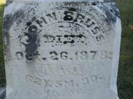 BRUSS, JOHN - Darke County, Ohio | JOHN BRUSS - Ohio Gravestone Photos