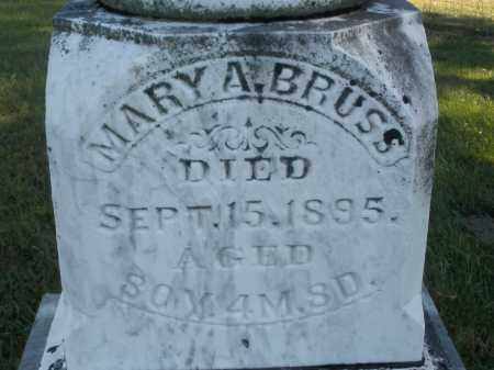 BRUSS, MARY A. - Darke County, Ohio | MARY A. BRUSS - Ohio Gravestone Photos