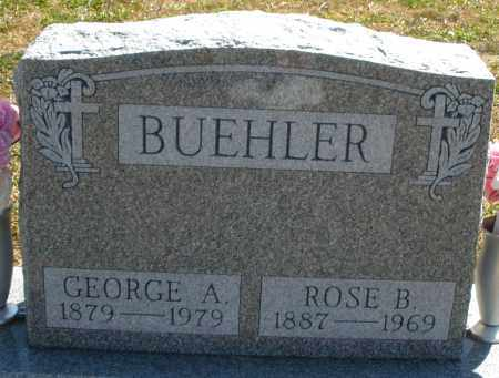 BUEHLER, GEORGE A. - Darke County, Ohio | GEORGE A. BUEHLER - Ohio Gravestone Photos