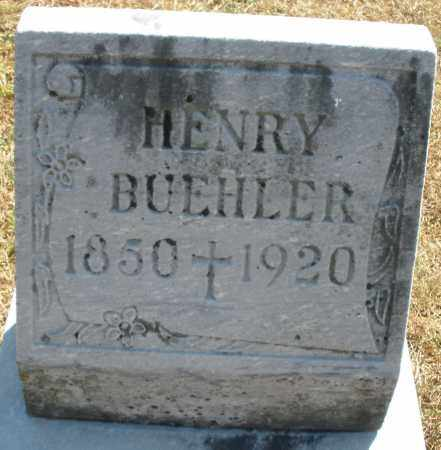 BUEHLER, HENRY - Darke County, Ohio | HENRY BUEHLER - Ohio Gravestone Photos
