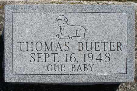 BUETER, THOMAS - Darke County, Ohio | THOMAS BUETER - Ohio Gravestone Photos
