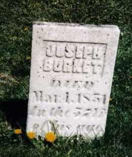 BURKET, JOSEPH - Darke County, Ohio   JOSEPH BURKET - Ohio Gravestone Photos