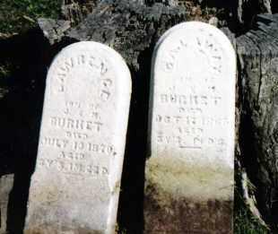BURKET, CALAWAY - Darke County, Ohio | CALAWAY BURKET - Ohio Gravestone Photos