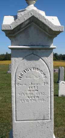 BURNS, HENRY - Darke County, Ohio | HENRY BURNS - Ohio Gravestone Photos